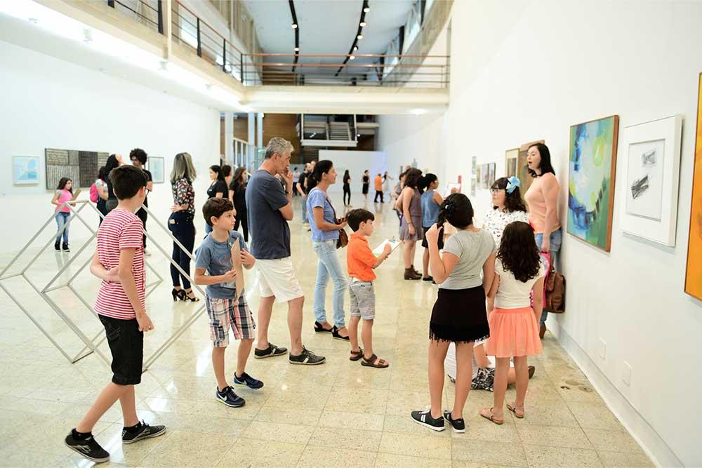 arte em familia galeria centro cultural